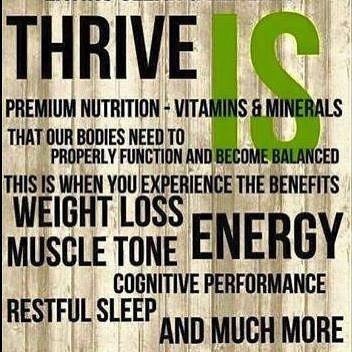 Welcome to the Thrive Challenge!